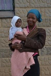 Basotho Mother and Child